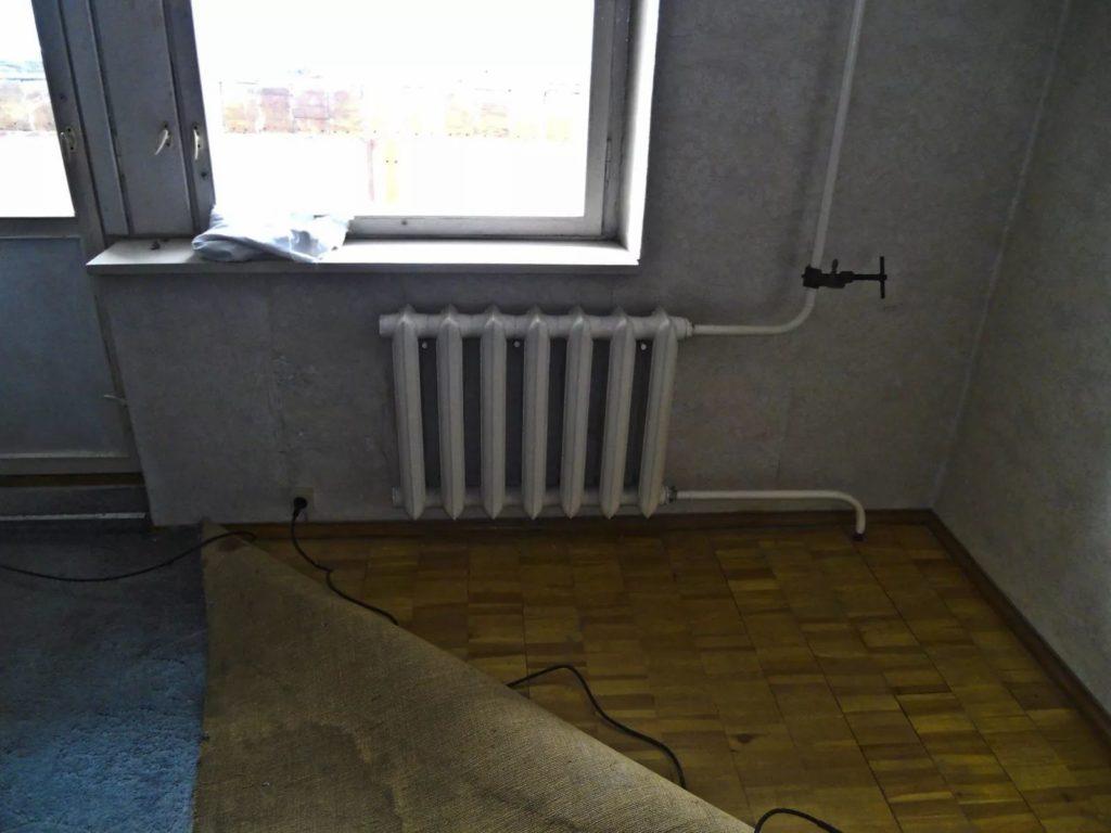 замена батарей в квартир е с отделкой балашиха-1