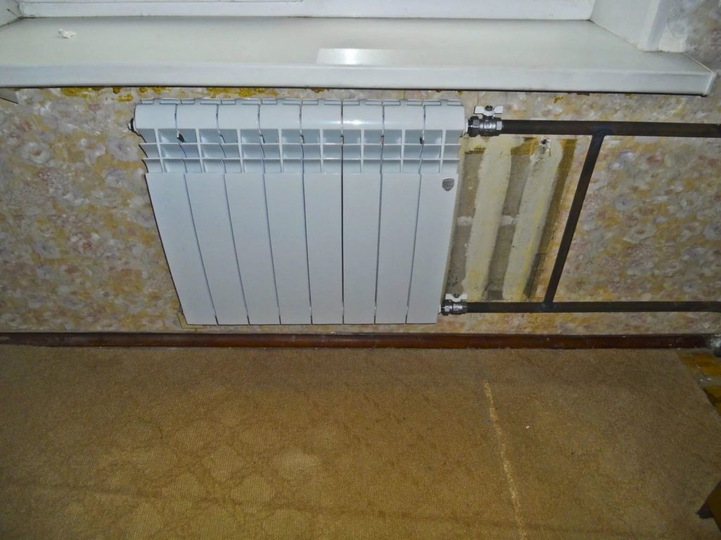 замена батарей в квартир е с отделкой балашиха-4