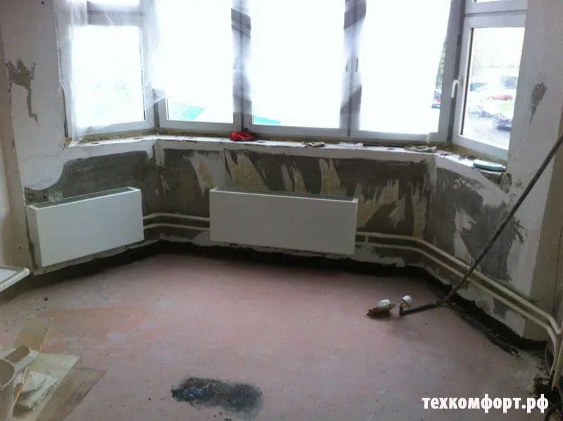 замена конвекторов на биметаллические радиаторы москва-3
