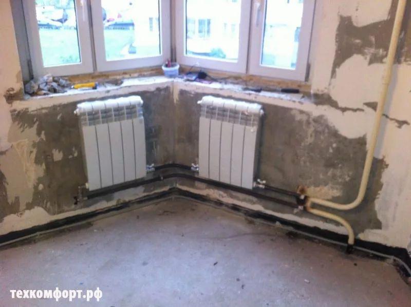 замена конвекторов на биметаллические радиаторы москва-8