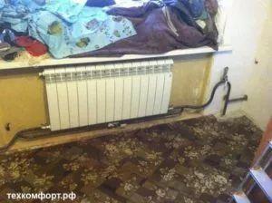 Замена радиаторов в хрущевке-6