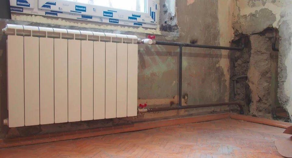 Переподключение недостаточно прогревающихся радиаторов-1