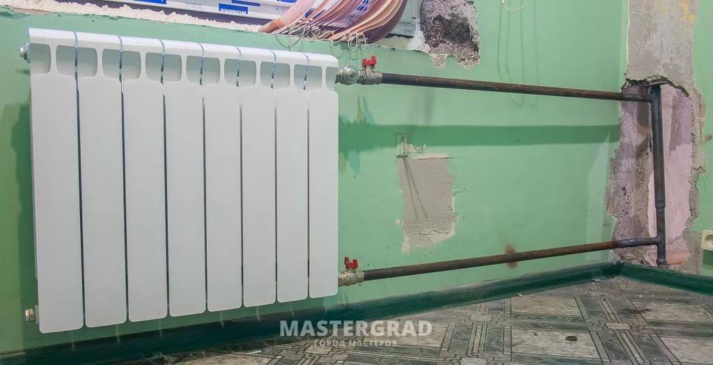 Переподключение недостаточно прогревающихся радиаторов-2