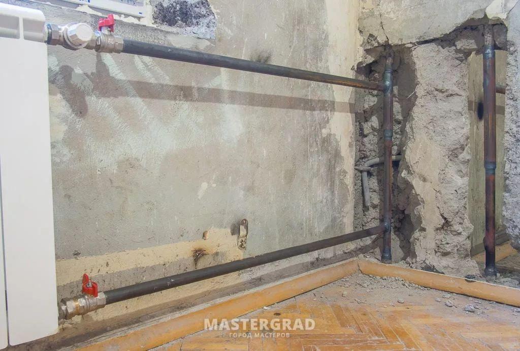 Переподключение недостаточно прогревающихся радиаторов-3