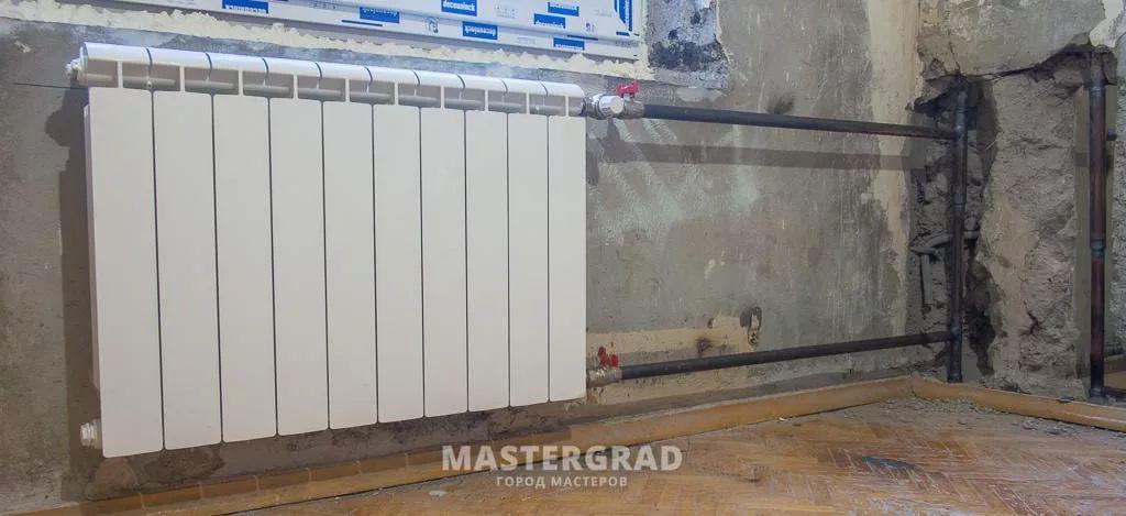 Переподключение недостаточно прогревающихся радиаторов-4