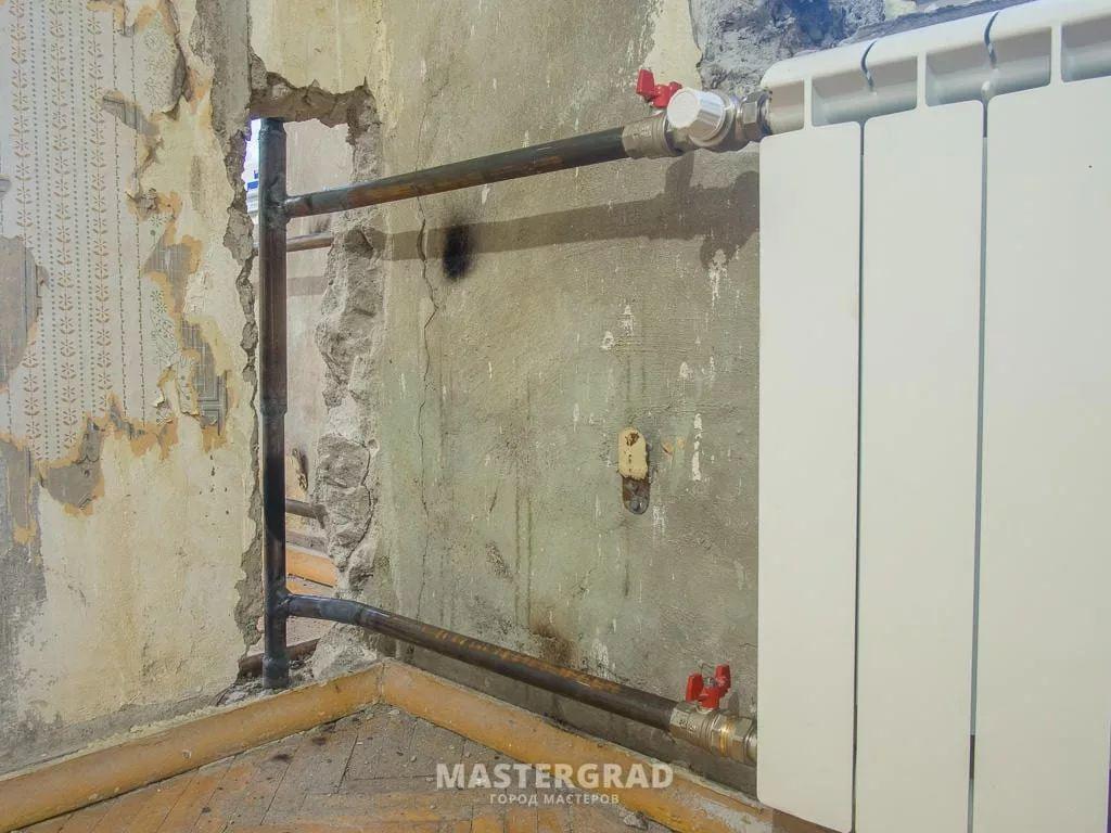 Переподключение недостаточно прогревающихся радиаторов-5
