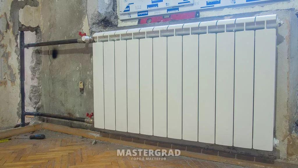 Переподключение недостаточно прогревающихся радиаторов-6