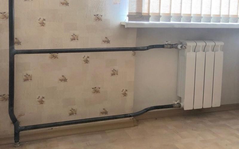 замена радиатора газосваркой