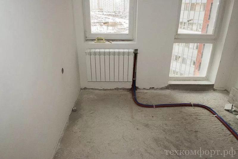 замена радиаторов отопления от застройщика-4