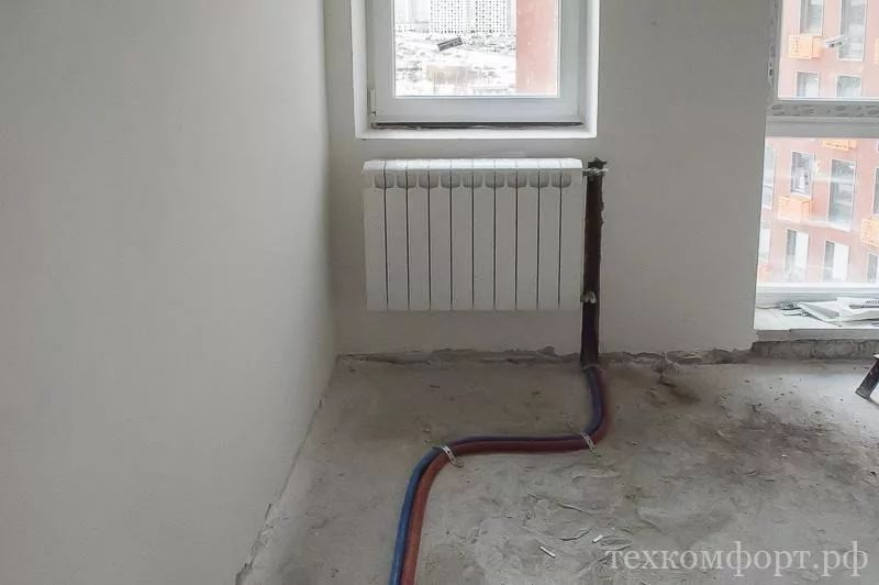 замена радиаторов отопления от застройщика-5