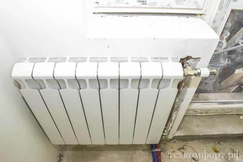 замена радиаторов отопления от застройщика-7