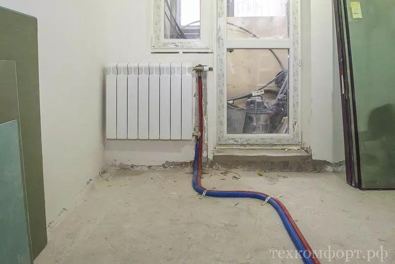 замена радиаторов отопления от застройщика-8