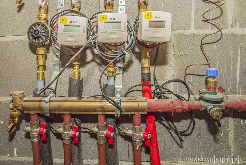 монтаж коллекторного отопления в новостройке-1