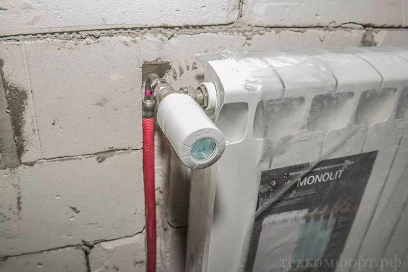 монтаж коллекторного отопления в новостройке-12