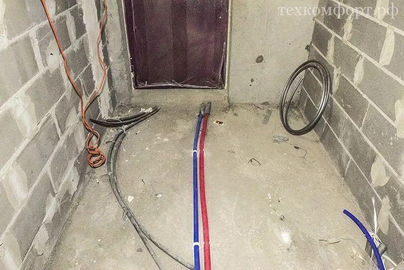 монтаж коллекторного отопления в новостройке-4