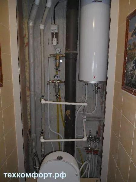 переделка водопровода смонтированного с грубейшими ошибками-1