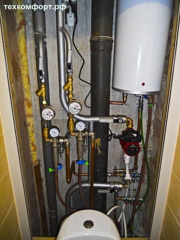 переделка водопровода смонтированного с грубейшими ошибками-7