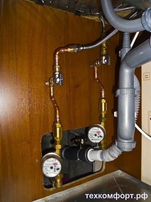 переделка водопровода смонтированного с грубейшими ошибками-9