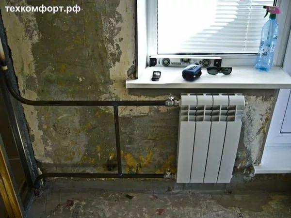 схемы подключения биметаллических радиаторов (102)