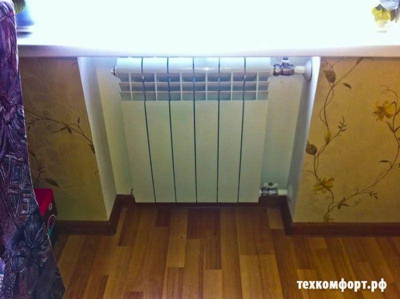 схемы подключения биметаллических радиаторов (105)