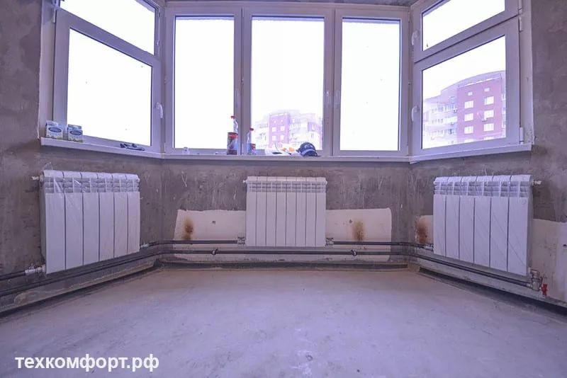 схемы подключения биметаллических радиаторов (111)
