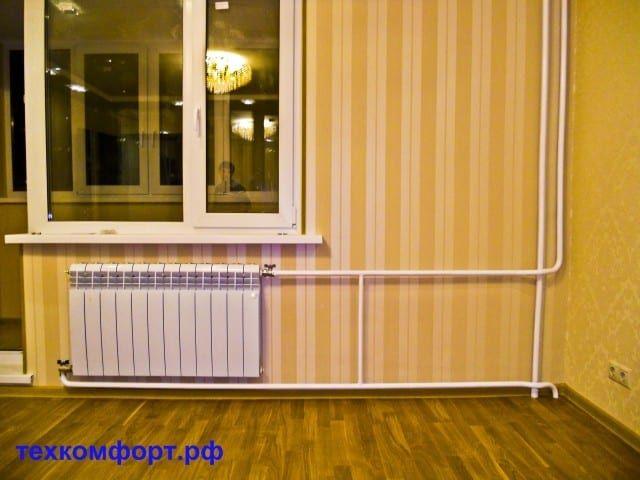 схемы подключения биметаллических радиаторов (112)
