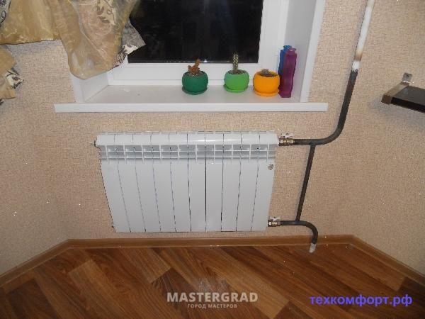 схемы подключения биметаллических радиаторов (113)