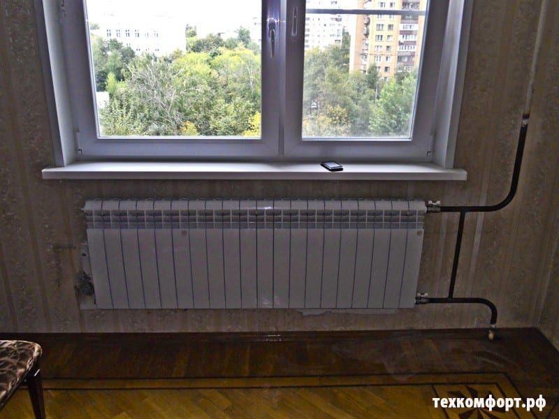 схемы подключения биметаллических радиаторов (114)