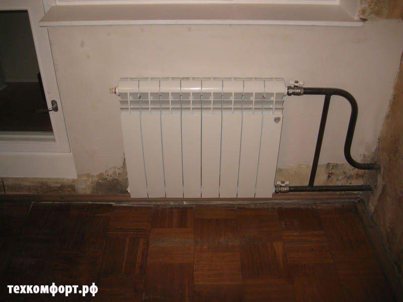 схемы подключения биметаллических радиаторов (115)