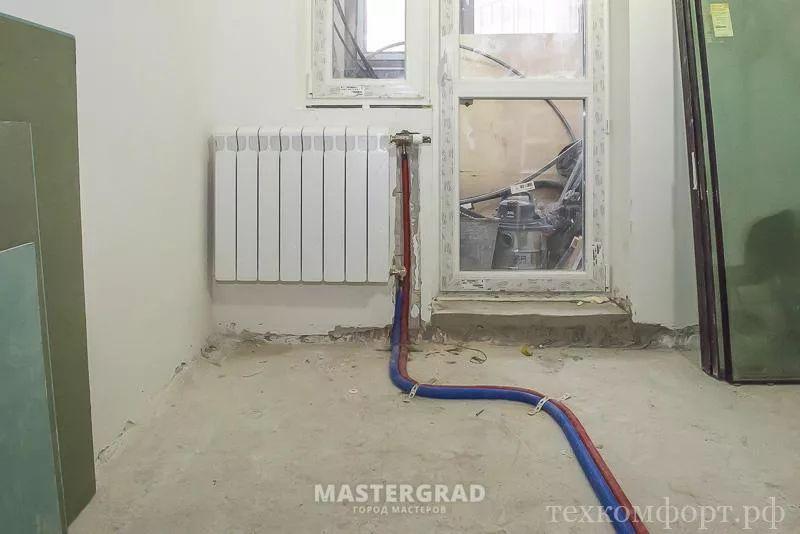 схемы подключения биметаллических радиаторов (22)