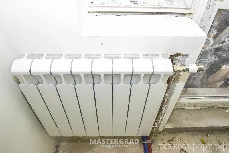 схемы подключения биметаллических радиаторов (23)