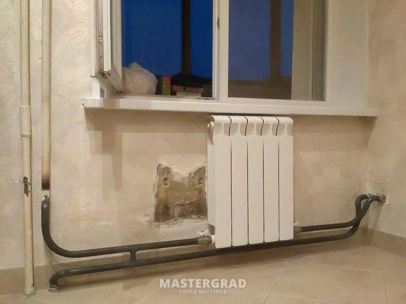 схемы подключения биметаллических радиаторов (30)