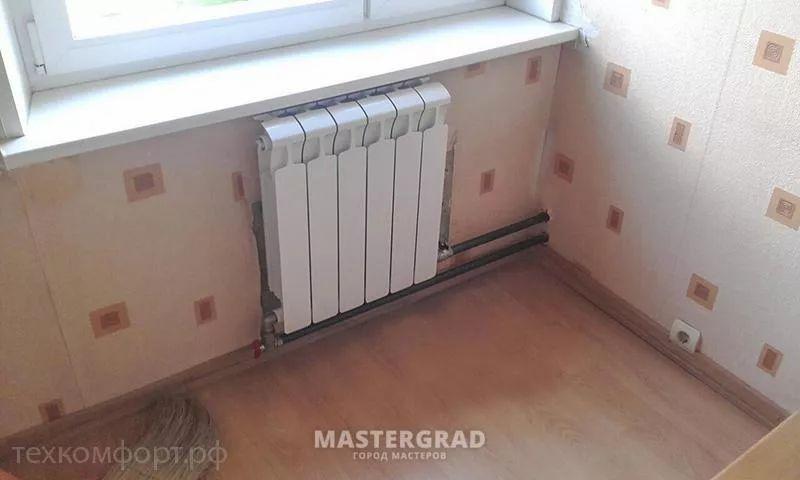 схемы подключения биметаллических радиаторов (33)