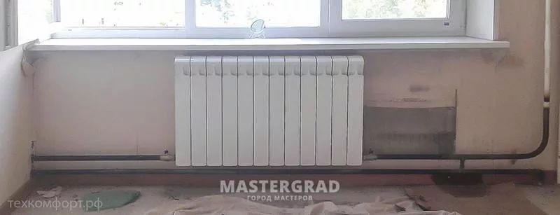 схемы подключения биметаллических радиаторов (34)