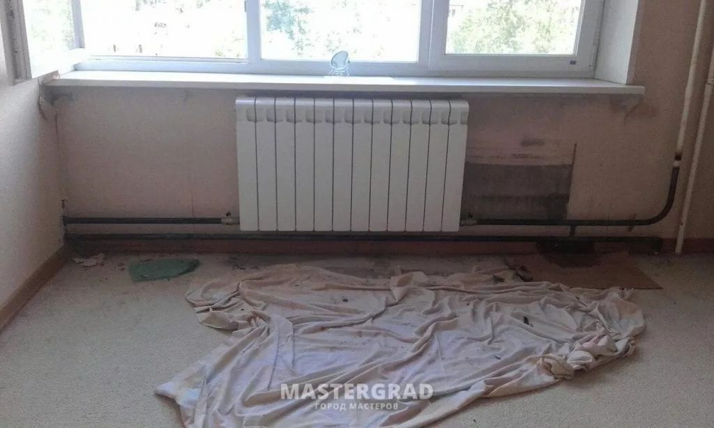 схемы подключения биметаллических радиаторов (35)