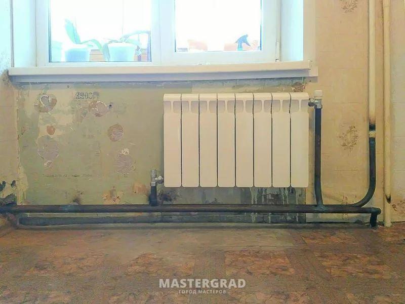 схемы подключения биметаллических радиаторов (39)