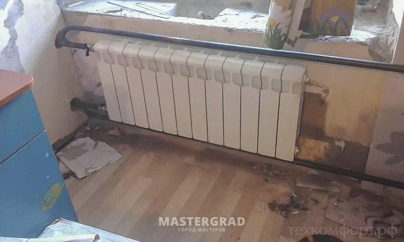 схемы подключения биметаллических радиаторов (40)