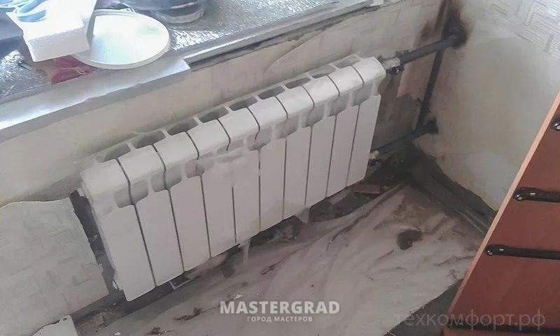 схемы подключения биметаллических радиаторов (41)