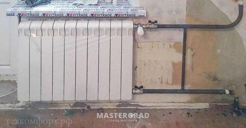 схемы подключения биметаллических радиаторов (49)