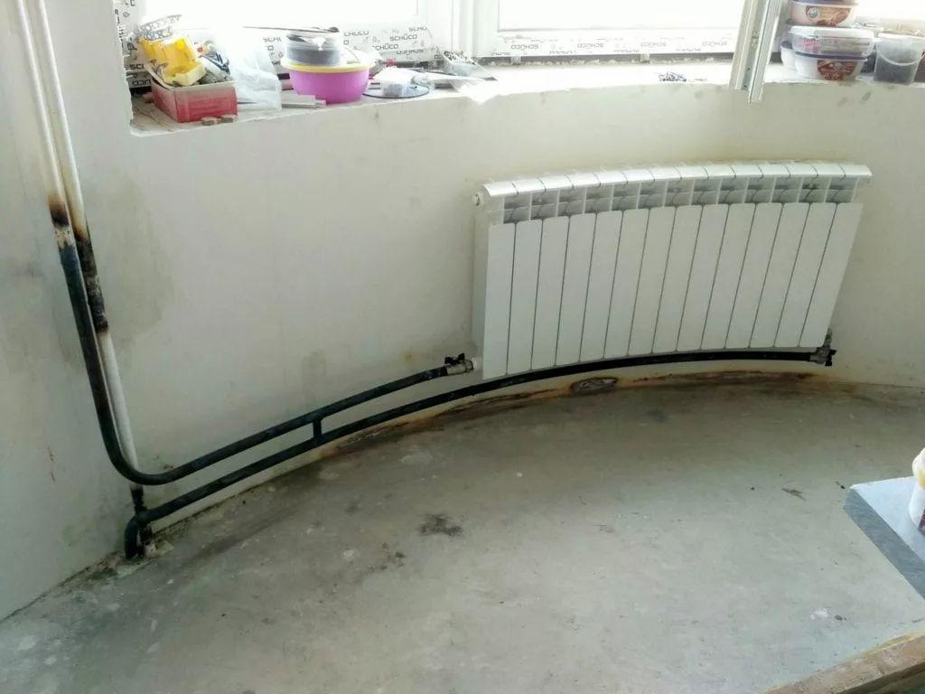 схемы подключения биметаллических радиаторов (67)