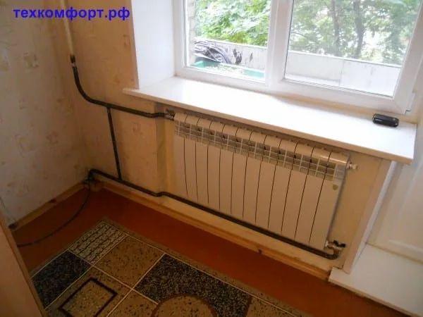 схемы подключения биметаллических радиаторов (70)
