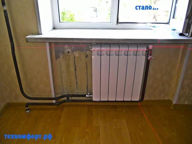 схемы подключения биметаллических радиаторов (71)