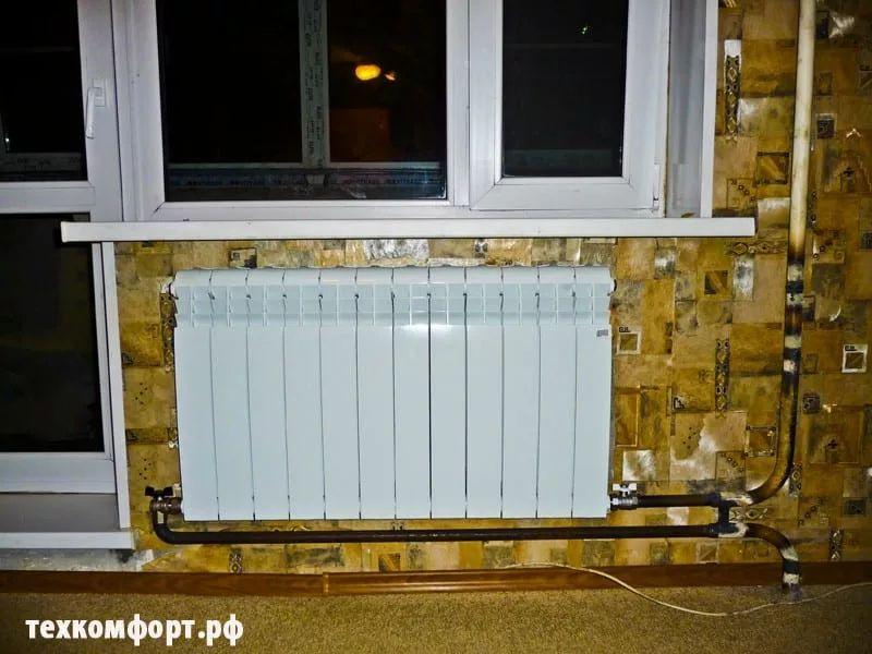 схемы подключения биметаллических радиаторов (75)