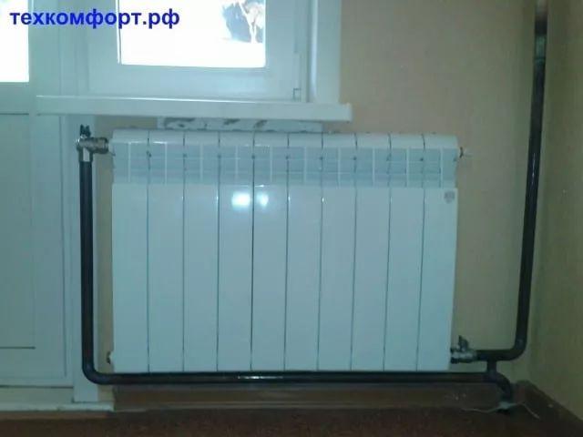 схемы подключения биметаллических радиаторов (77)
