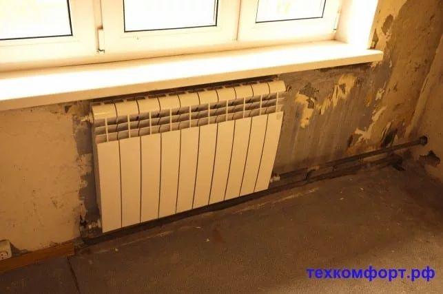схемы подключения биметаллических радиаторов (86)