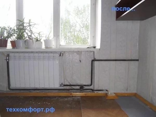 схемы подключения биметаллических радиаторов (88)
