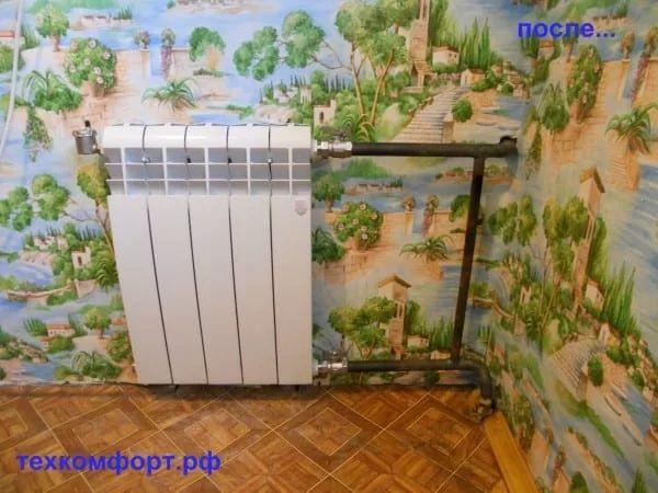схемы подключения биметаллических радиаторов (89)
