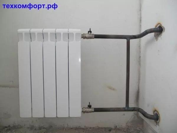 схемы подключения биметаллических радиаторов (92)