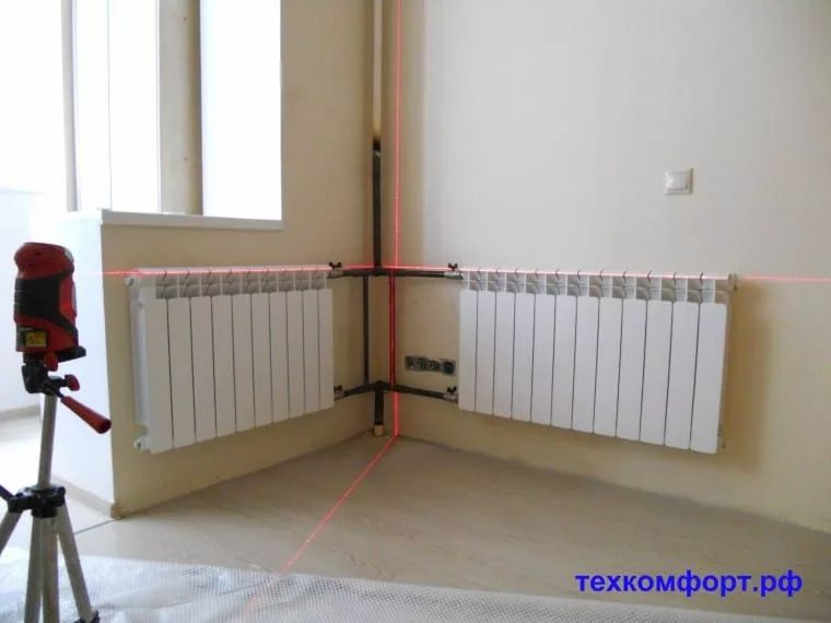 схемы подключения биметаллических радиаторов (94)