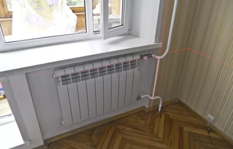 радиатор в хрущевке
